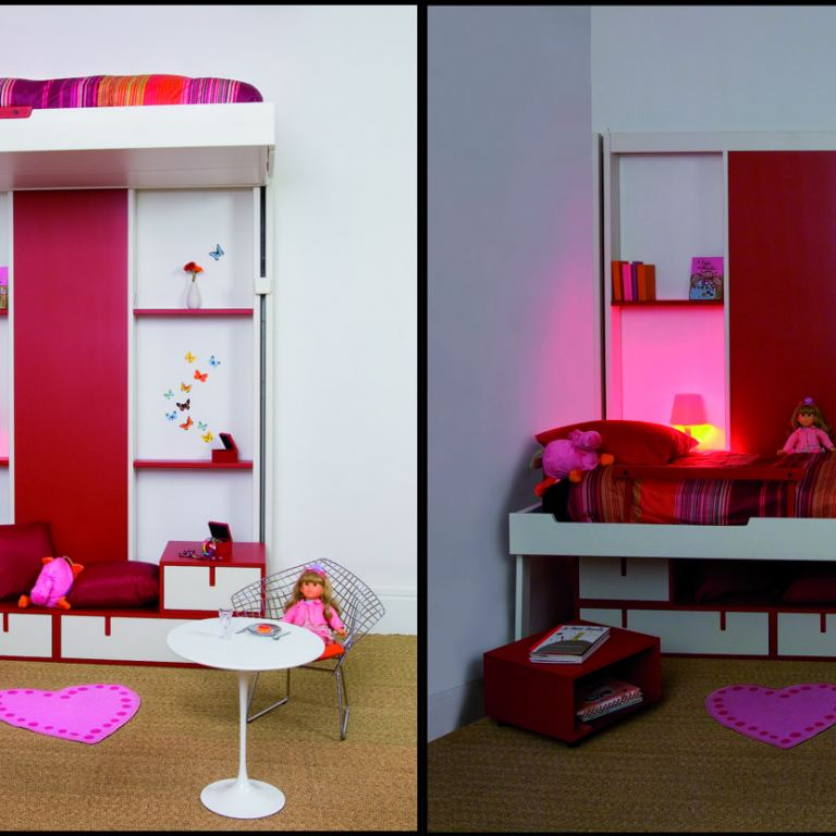 Slide Away Beds Free Space