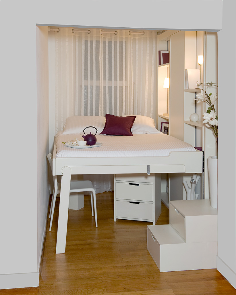 small spaces espace loggia. Black Bedroom Furniture Sets. Home Design Ideas