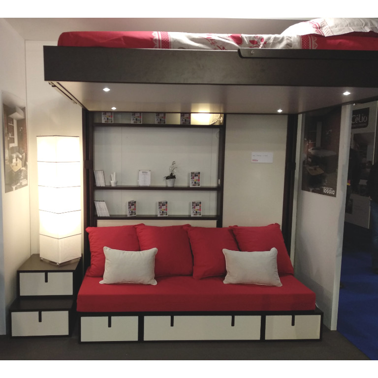 mod les d 39 exposition foire de lyon un dkl et sa banquette. Black Bedroom Furniture Sets. Home Design Ideas